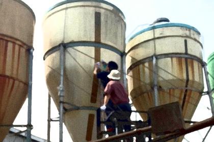 タンク残量監視システム
